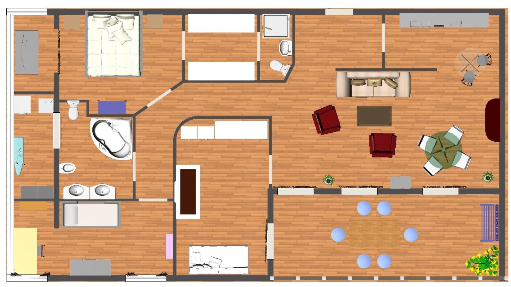 Via scarlatti vomero appartamento con terrazzino a livello for Planimetria dell appartamento in vendita