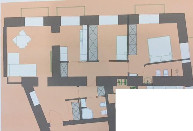 Appartamento 90mq via del parco margherita for Margherita pianta