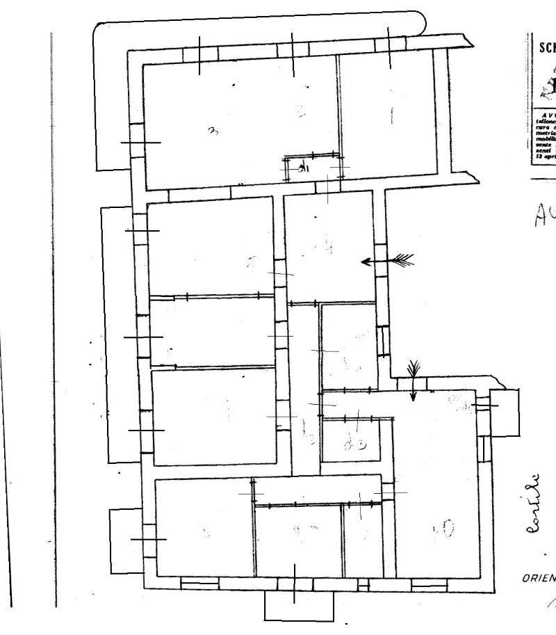 planimetria via Donizetti 1450
